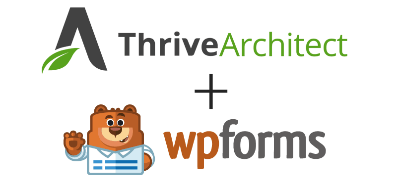 How to use Thrive Architect or Thrive Leads with WPForms