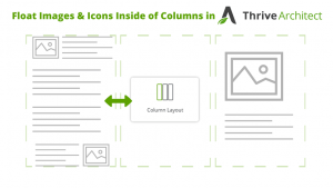 How to Float Images and Icons Inside a Column in Thrive Architect