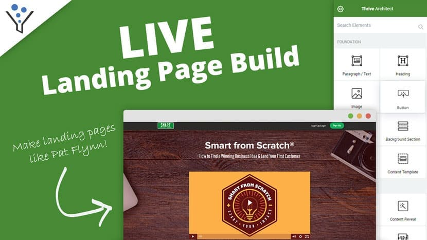 Make Landing Pages Like Pat Flynn