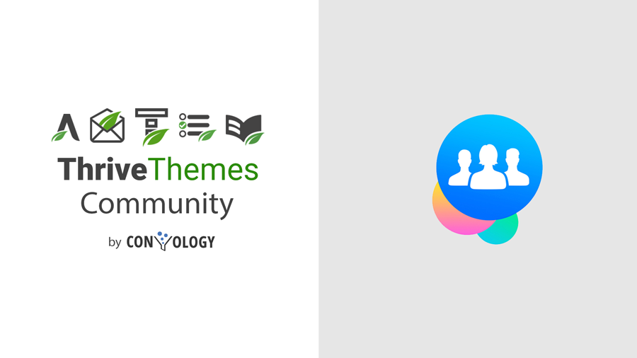 Thrive Themes Facebook Group by Convology