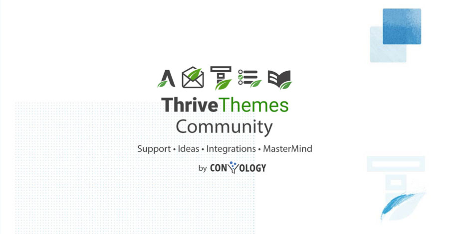 Thrive Themes Facebook Group