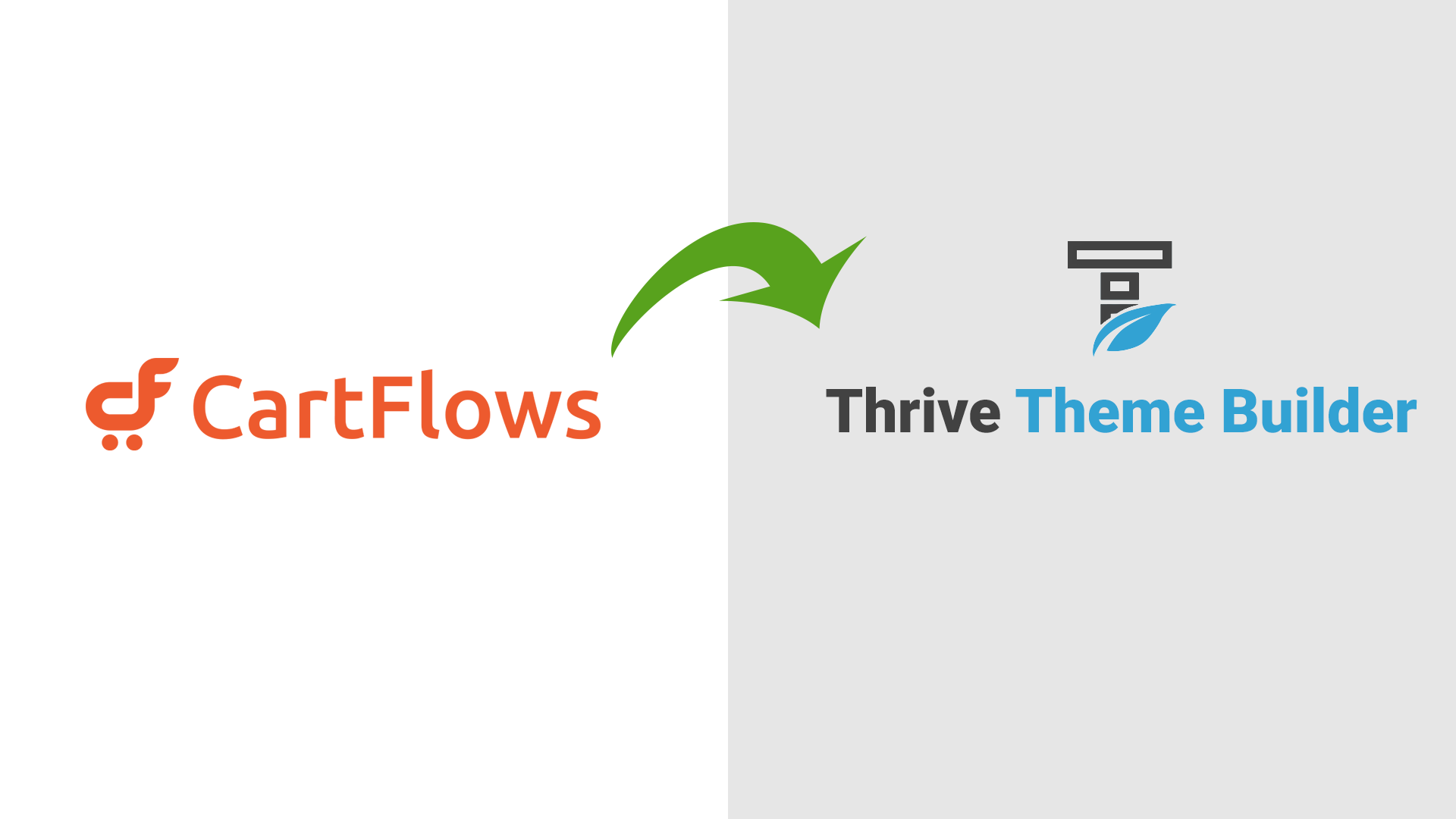 Cartflows with Thrive Theme Builder