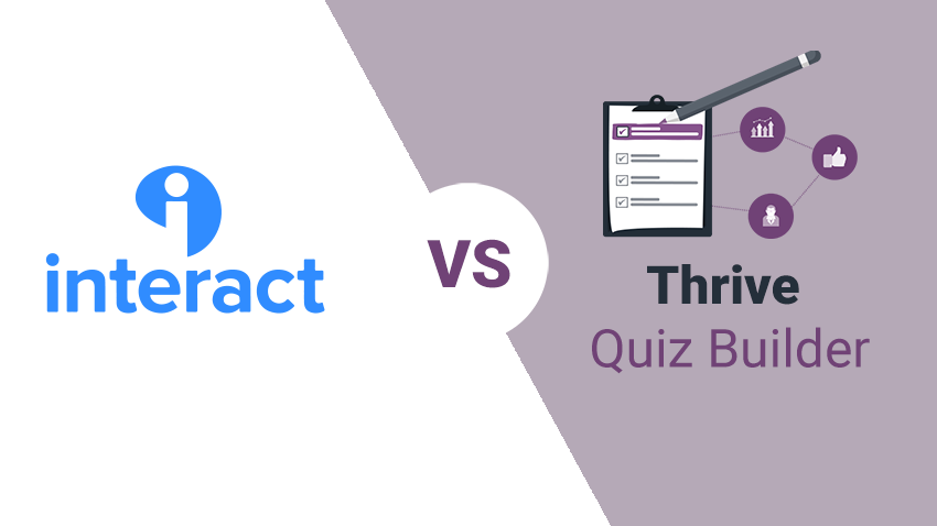 Interact Quiz Maker Alternative: Thrive Quiz Builder